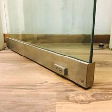 Door accessories glass door rails ozone glass door rails planetlyrics Image collections