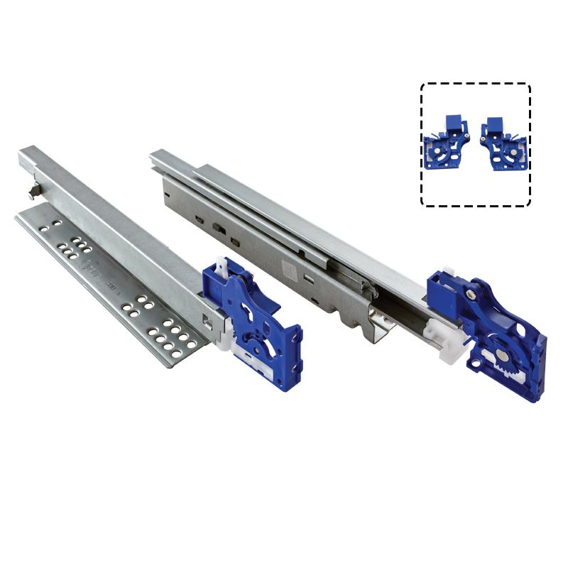 Undermount Drawer Slides With Soft Closing Mechanism From Ozone