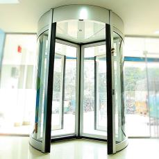 Automatic Revolving Door System - Ozone India