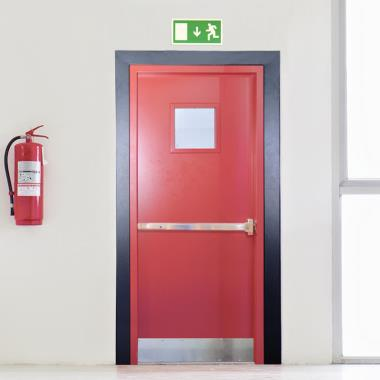Fire Exit Doors With 30 To 120 Mins Fire Rating