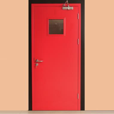Ozone Fire Rated Fire Safety Doors Manufactured In House In India