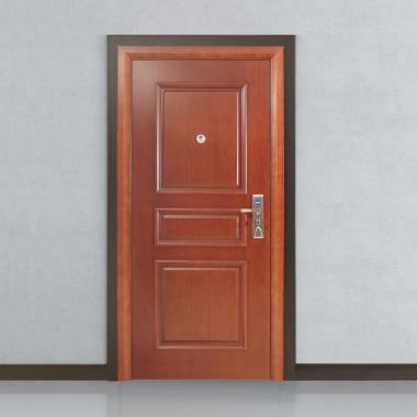 Ordinaire Steel Wood Armoured Doors