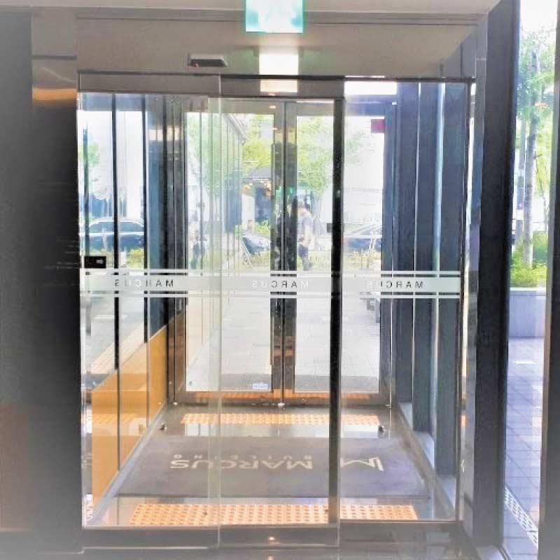 Automatic telescopic sliding doors manufacturer and supplier