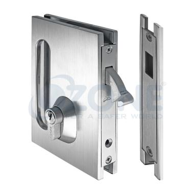 Sliding Door Lock With Claw Type Dead Bolt Amp Strike Plate