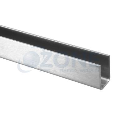 Stainless Steel Channel For 10 Amp 12mm Glass Ozgl Upr Ss