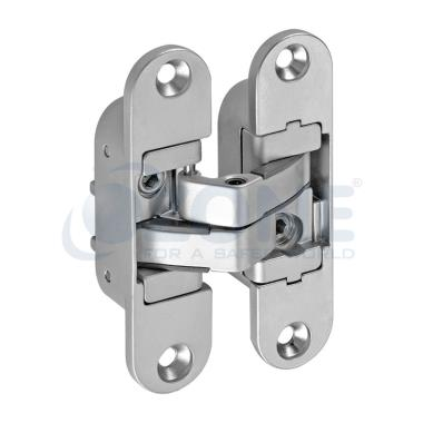 Triple adjustable wooden door hinge oz wd ach 40 for Adjustable hinges for exterior doors
