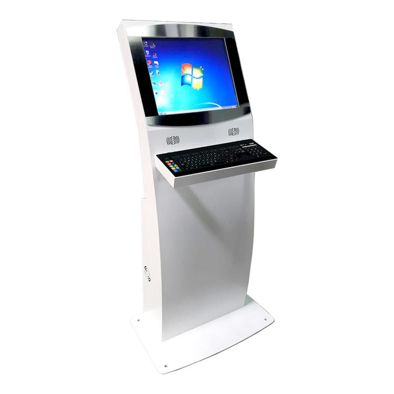 Ozone free-standing, interactive touch screen digital kiosk