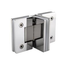 T-Shower Hinge for Adjacent Dual Opening Doors