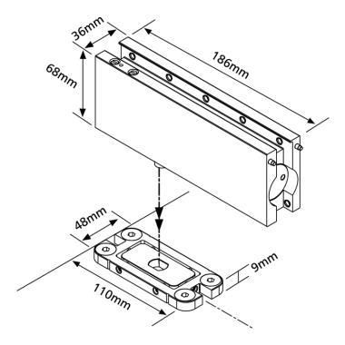 Concealed Floor Spring For Glass Door