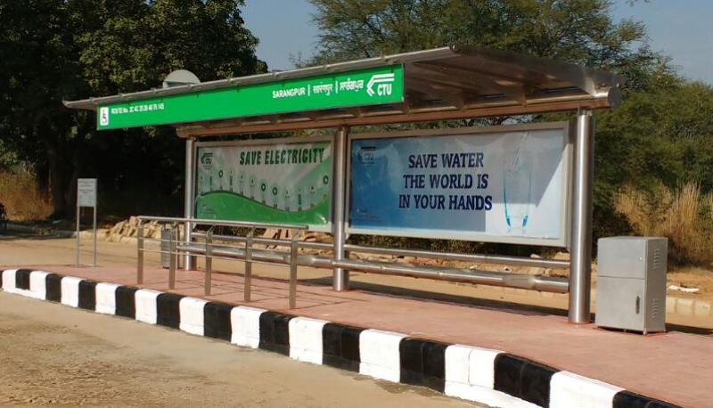 Sarangpur Bus Shelters