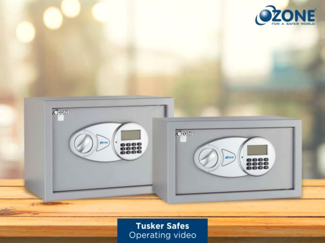 <span>Ozone Tusker Digital Safe-Operating procedure and Key Security features video</span>