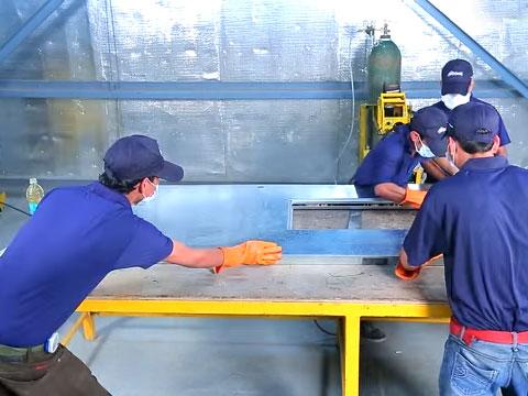 <span>Ozone Manufacturing - Metal Doors</span>